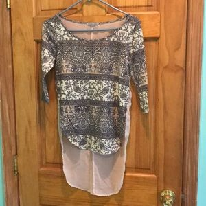 High low shirt, Charlotte russe , new and cuteee